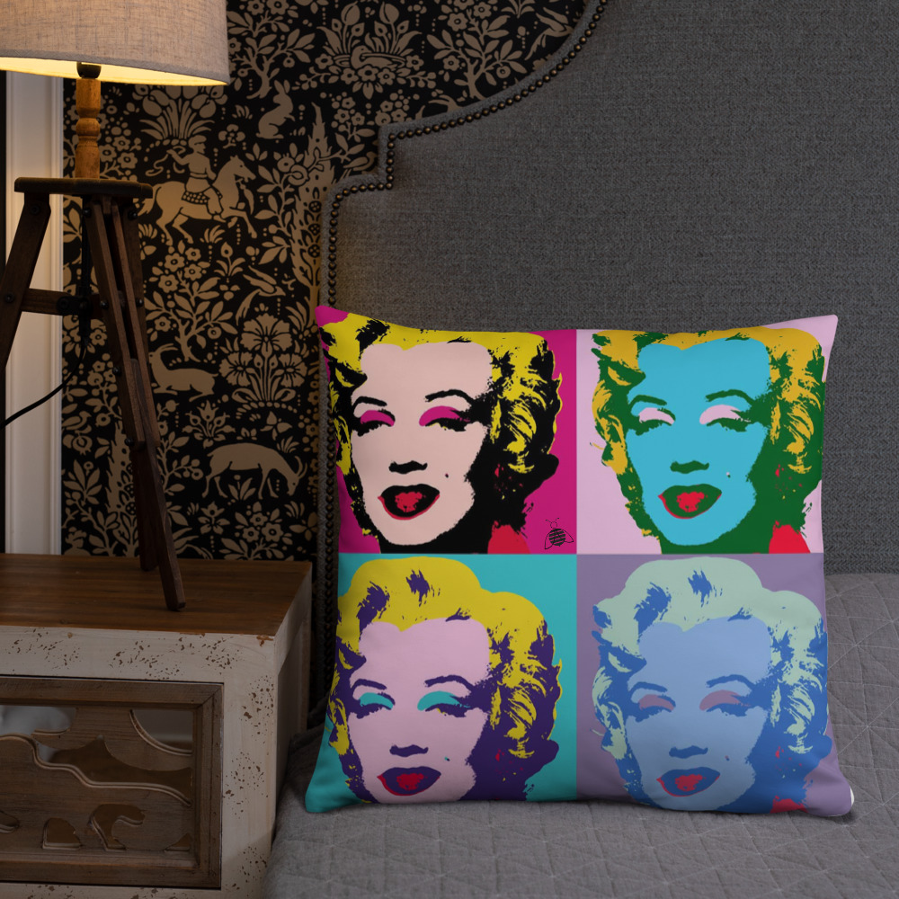 """Couch pillow """"Marilyn Monroe"""" top quality"""