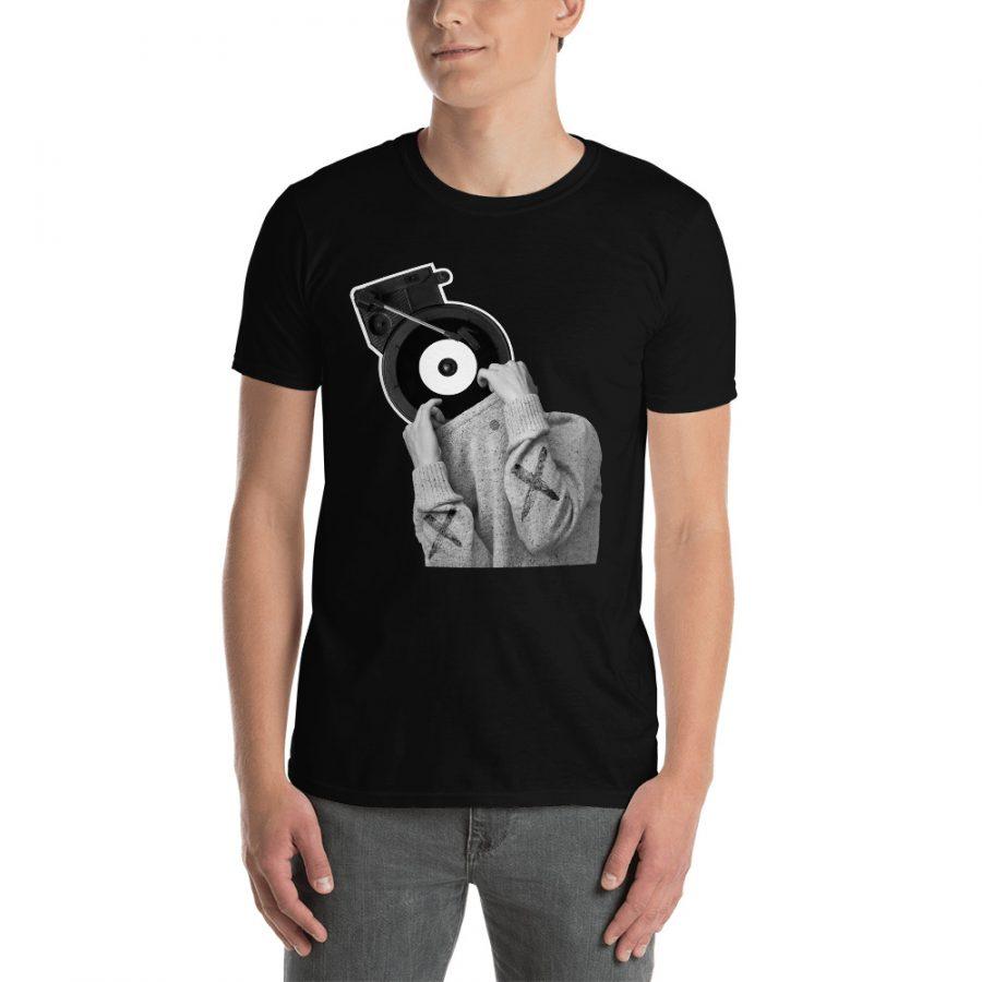 unisex basic softstyle t shirt black front 601587b484067