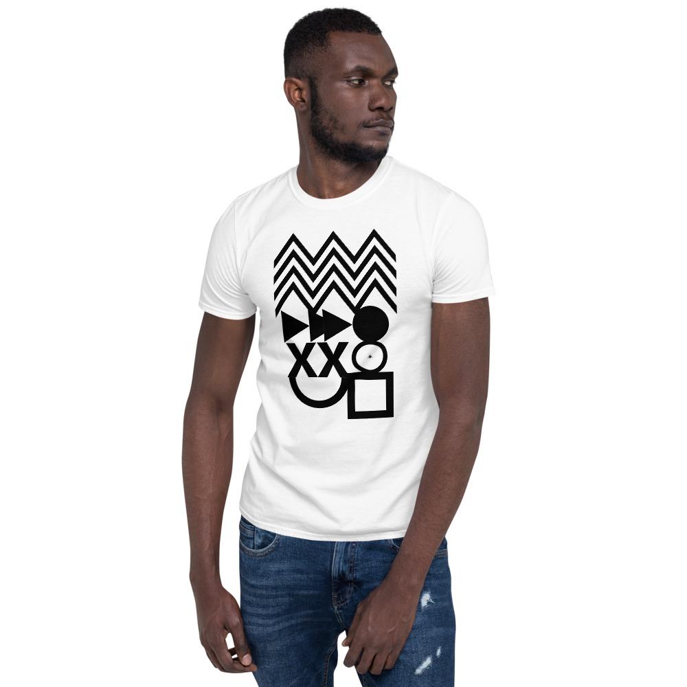 Abstract shapes t shirt