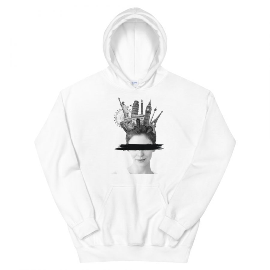 """Women's Hoodie """"Travelling"""" high quality"""