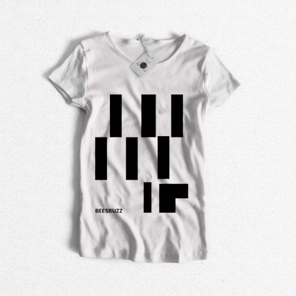 """T Shirt """"abstract lines"""" high quality"""