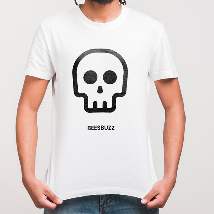 BC skullTshirt men mockup