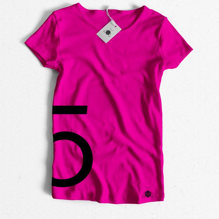 bC tshirt number 5 f