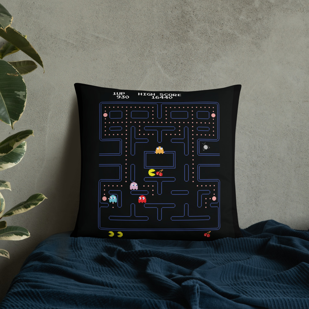 """Couch pillow """"pacman""""high quality"""