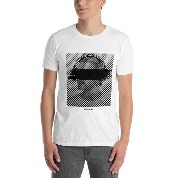 "Men's t shirt ""lines"" high quality"
