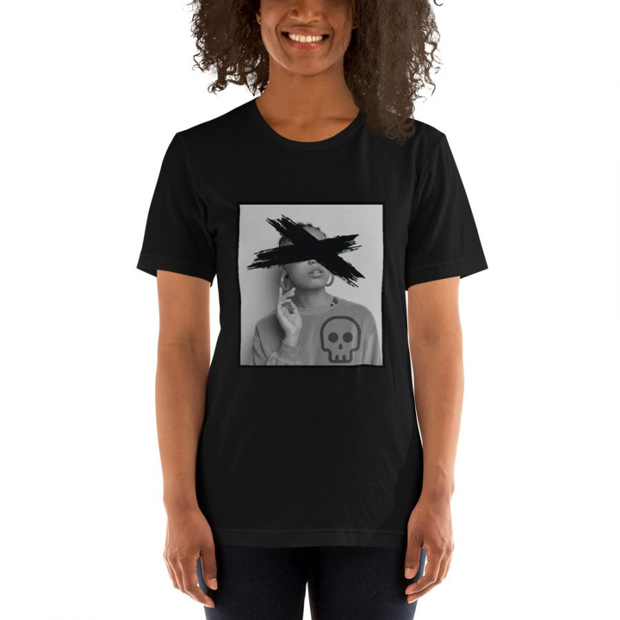 unisex premium t shirt black front 608e85ee084df
