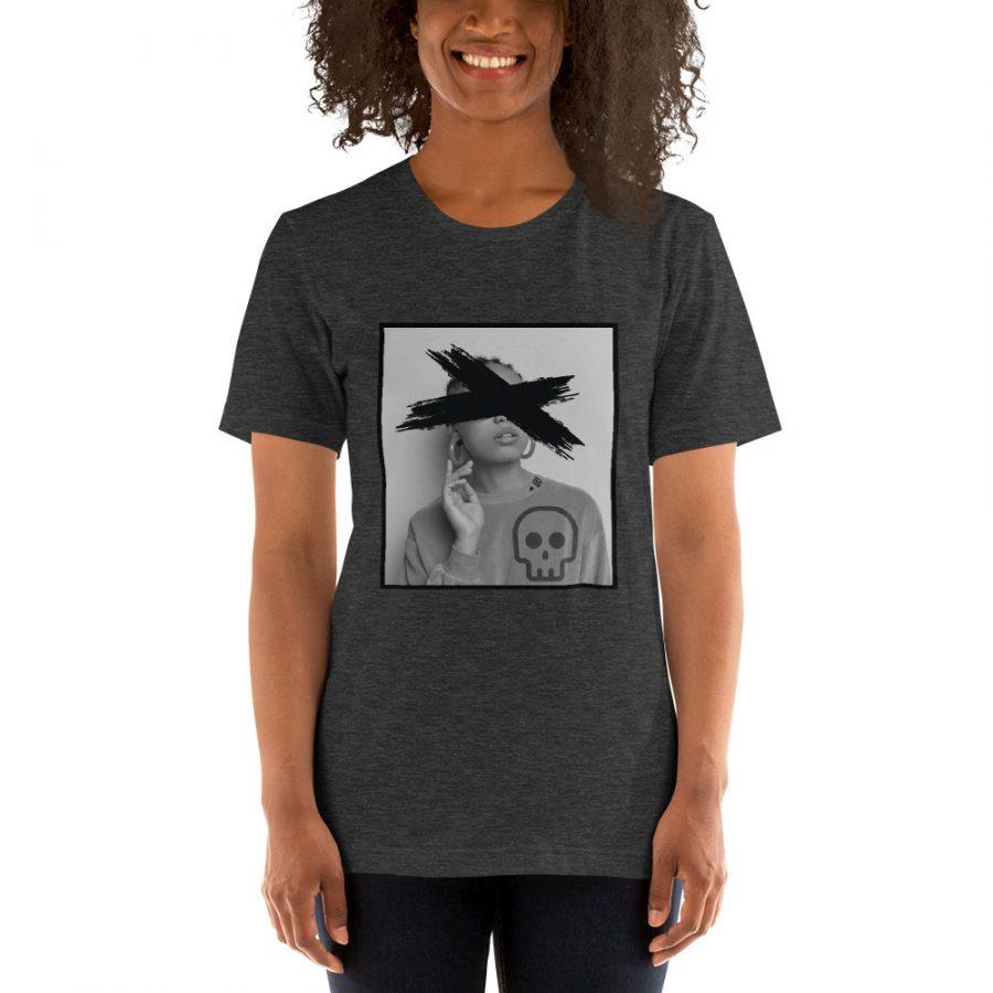 unisex premium t shirt dark grey heather front 608e85ee08783