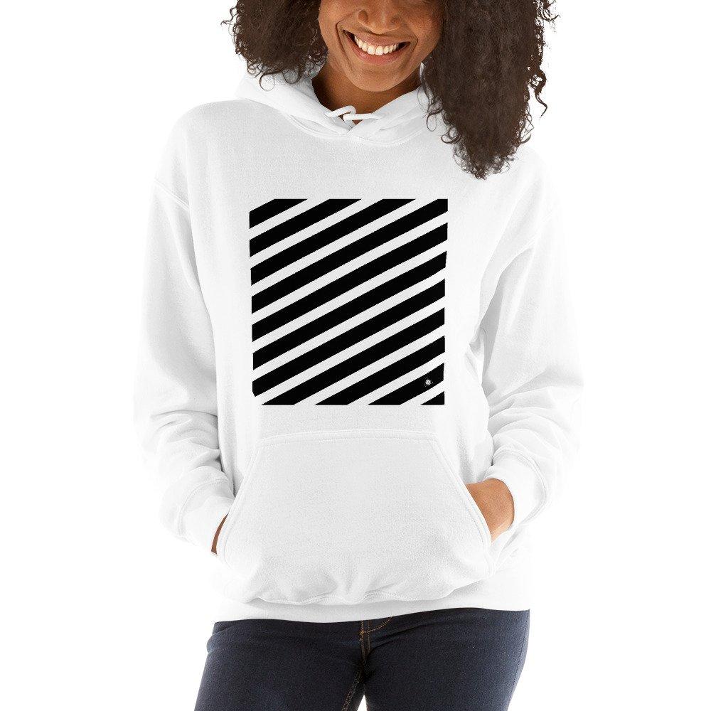 "Women hoodie ""Black lines"" high quality"