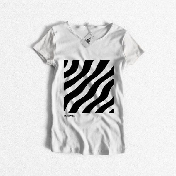 "Women t shirt ""zebra"" high quality"