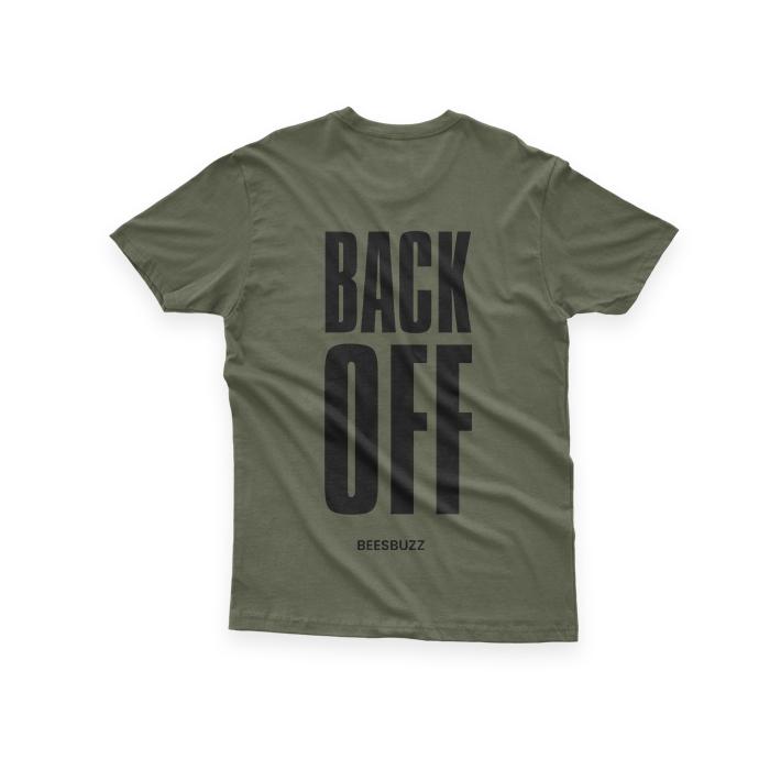 Bc BACK OFF SHIRT GREEN