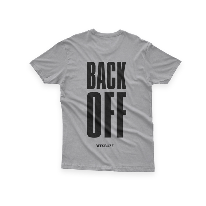 Bc BACK OFF SHIRT GREY2