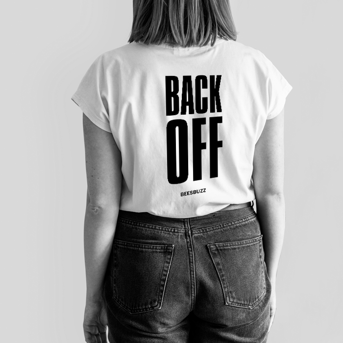 Bc BACK OFF SHIRT MODEL