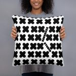 """Couch pillow """"patern x"""" high quality"""