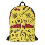 """Backpack """"ROCK N ROLL"""" high quality"""