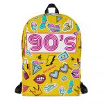"""Backpack """"The 90s"""" high quality"""