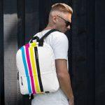 "Backpack ""CMYK"" high quality"
