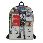 """Backpack """"posters"""" high quality"""