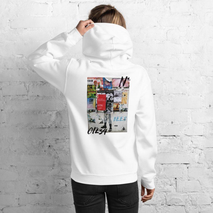 "Women Hoodie ""graffiti"" high quality"