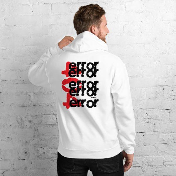 "Men hoodie ""Error 404"" high quality"