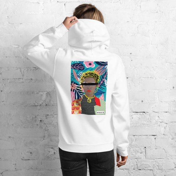 """Women hoodie""""Collage, illustration 1"""" high quality"""